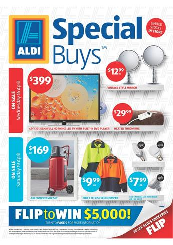 Aldi Catalogue Easter Sale With New Prices of Special Buys