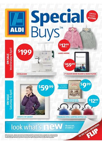 Aldi Special Buys Catalogue Camping Products
