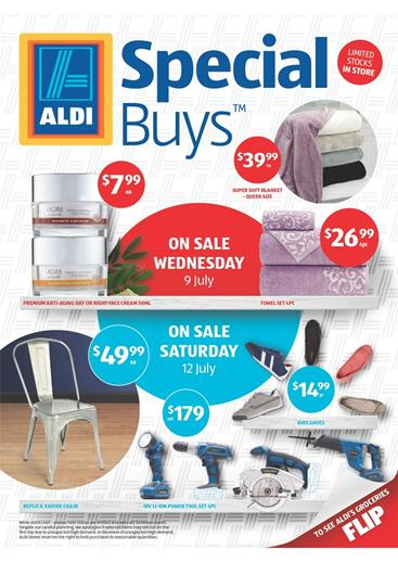 Aldi Catalogue Home Sale July 2014