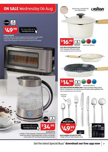 Aldi August Kitchen Electrical