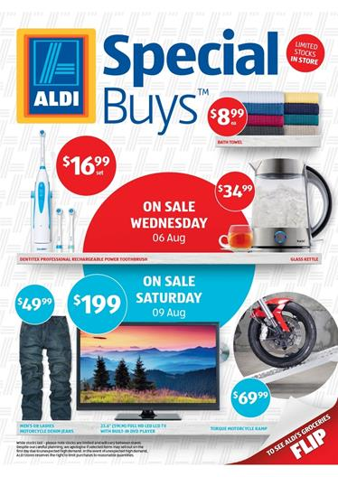Aldi Catalogue August Offers 2014