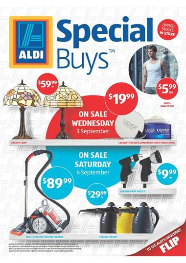 Aldi Catalogue Furniture and Home Appliances Offers Special for September