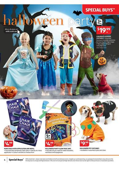 Aldi Special Buys Kids Halloween Party Supplies
