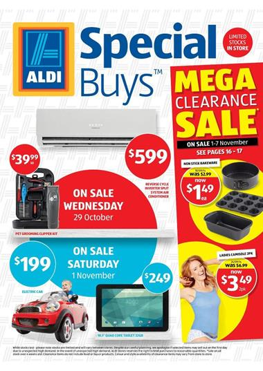 Aldi Special Deals Summer Coolers and Baby Products
