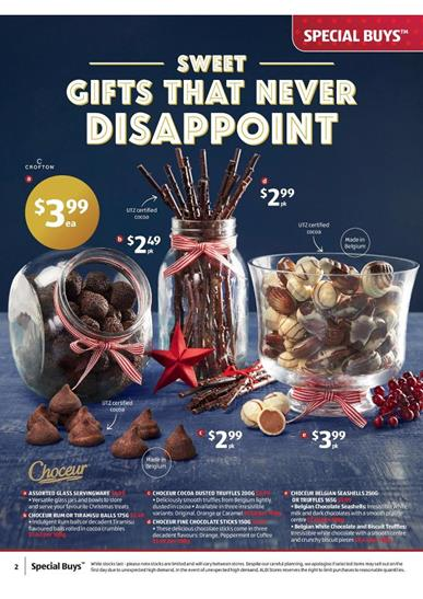 Aldi Christmas Chocolate and Other Sweets