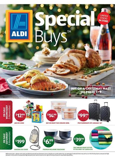 Aldi November Christmas Offers Within Range of Catalogue