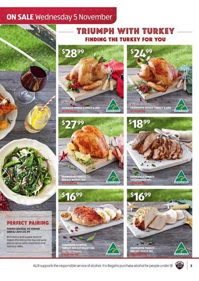 Aldi Turkey Offers November 2014