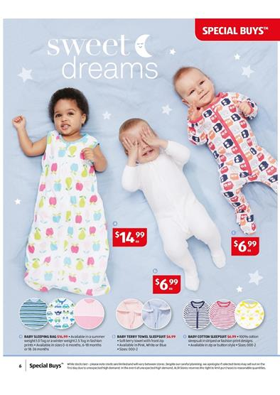Aldi Catalogue Baby Care Products February 2015