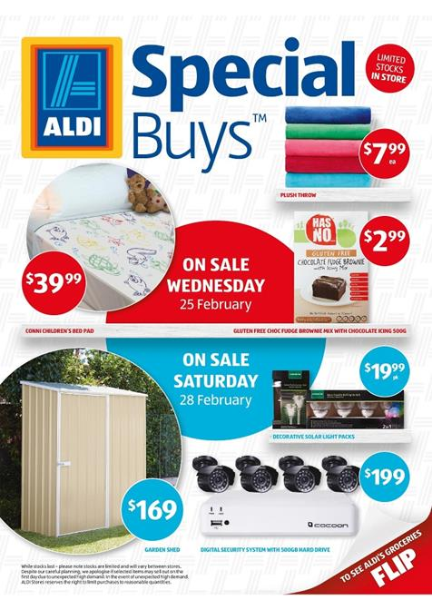 Aldi Catalogue Special Buys Week 9 February 2015