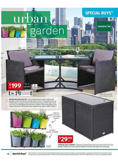 aldi special buys gardenline products february 2015