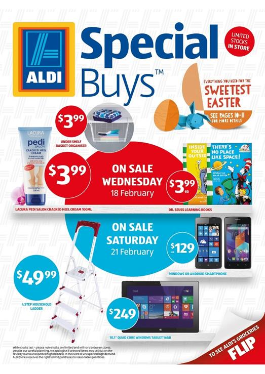 Lacura Cosmetics and Crofton Kitchen Ware Aldi Special Buys Week 8