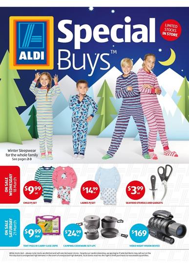 ALDI Special Buys Week 12 18th March Sale