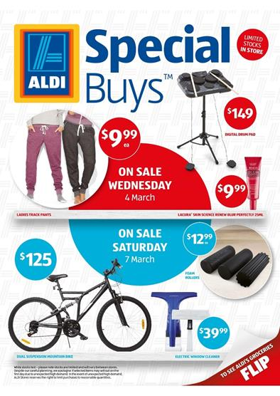 Aldi Catalogue Special Buys Week 10 2015