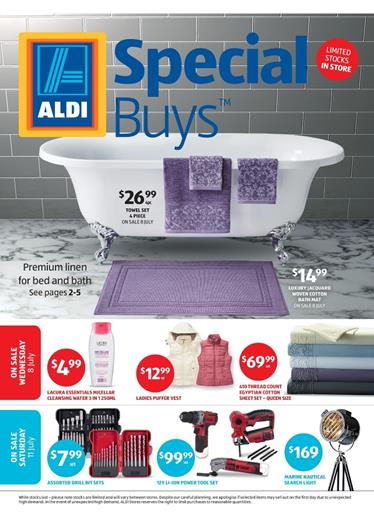 ALDI Catalogue Special Buys Week 28 On Sale In 8 July - 11 July 2015