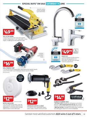 Aldi catalogue repair tools jun 2016 for Aldi gardening tools 2016