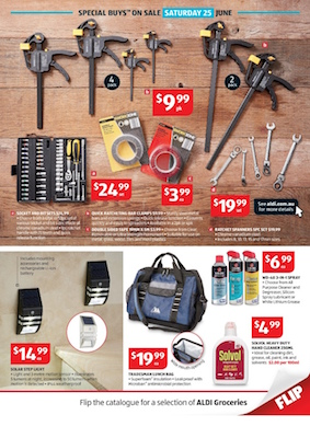 Aldi catalogue special buys 21 jun 2016 for Aldi gardening tools 2016