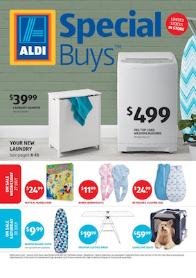 ALDI Catalogue Special Buys End-July 2016