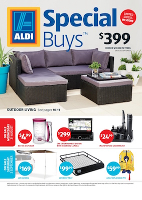 ALDI Catalogue Special Buys 28 Aug 2016