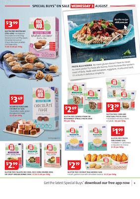 ALDI Catalogue Special Buys August 2016